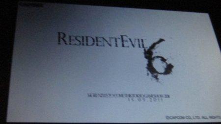'Resident Evil 6' podría ser mostrado en el próximo TGS