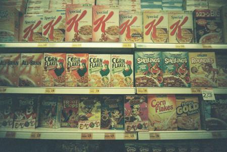 Pasillo de cereales