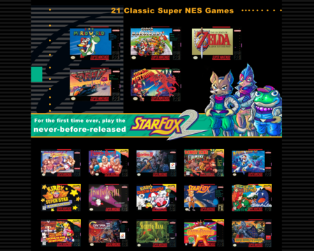 SNES MIni games