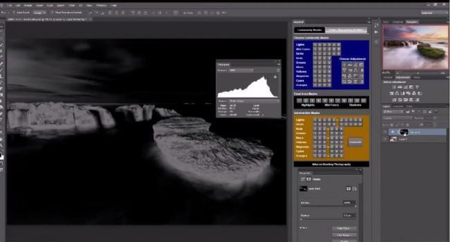 Luminosity Action Panel, un interesante plugin de Photoshop para controlar las capas de luminosidad