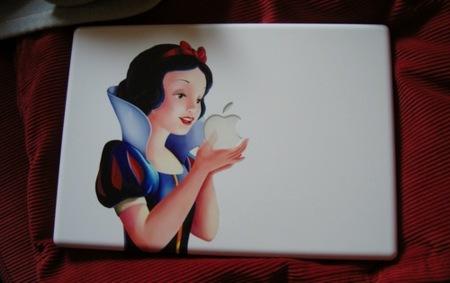 Imagen de la semana: El MacBook de blancanieves