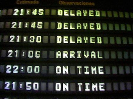 Las demoras de los vuelos causan pérdidas millonarias