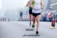 ¿Cuántos kilómetros debo correr a la semana para preparar una maratón?