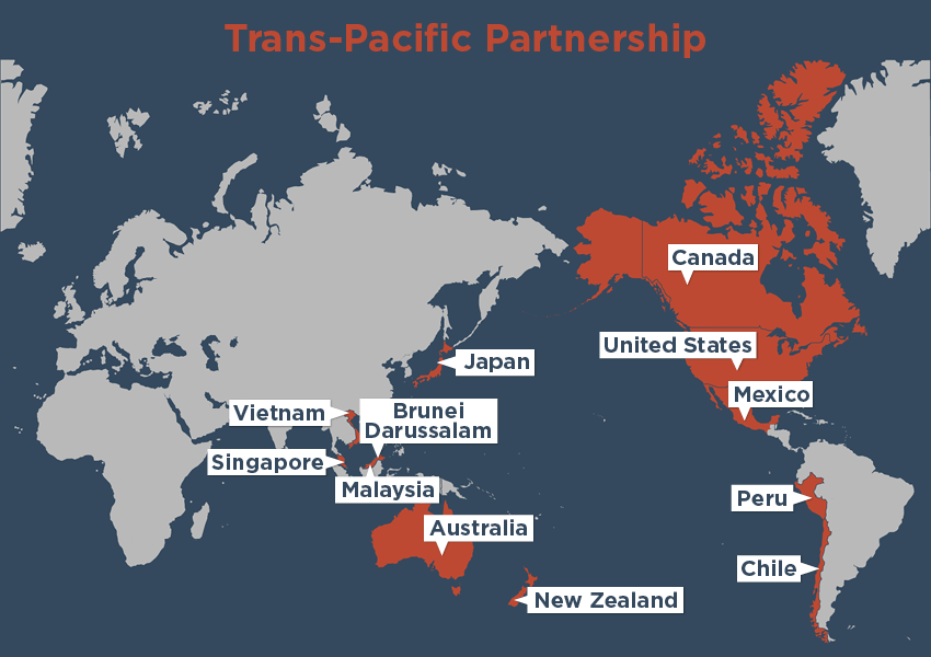 Mapa TPP
