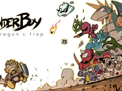 El clásico Wonder Boy: The Dragon's Trap regresará en forma de remake con un estilo visual brillante