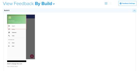 Feedback Buddybuild
