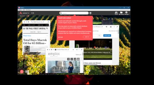 """Probamos Addap, un navegador que utiliza un novedoso sistema para organizar pestañas en """"ambientes"""""""