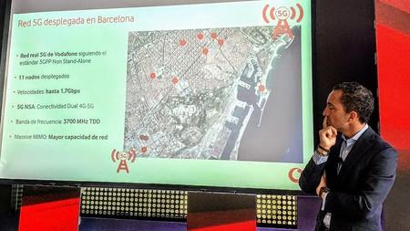 5G Vodafone en Barcelona