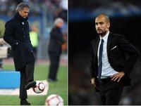 Mourinho vs Guardiola: dos estilos diferentes, también fuera del campo