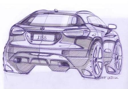 Mercedes-Benz GLA Sketch