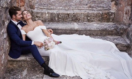 Así fue el segundo vestido de novia de Rosanna Zanetti