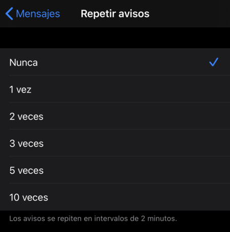 Notificaciones Imessage 2