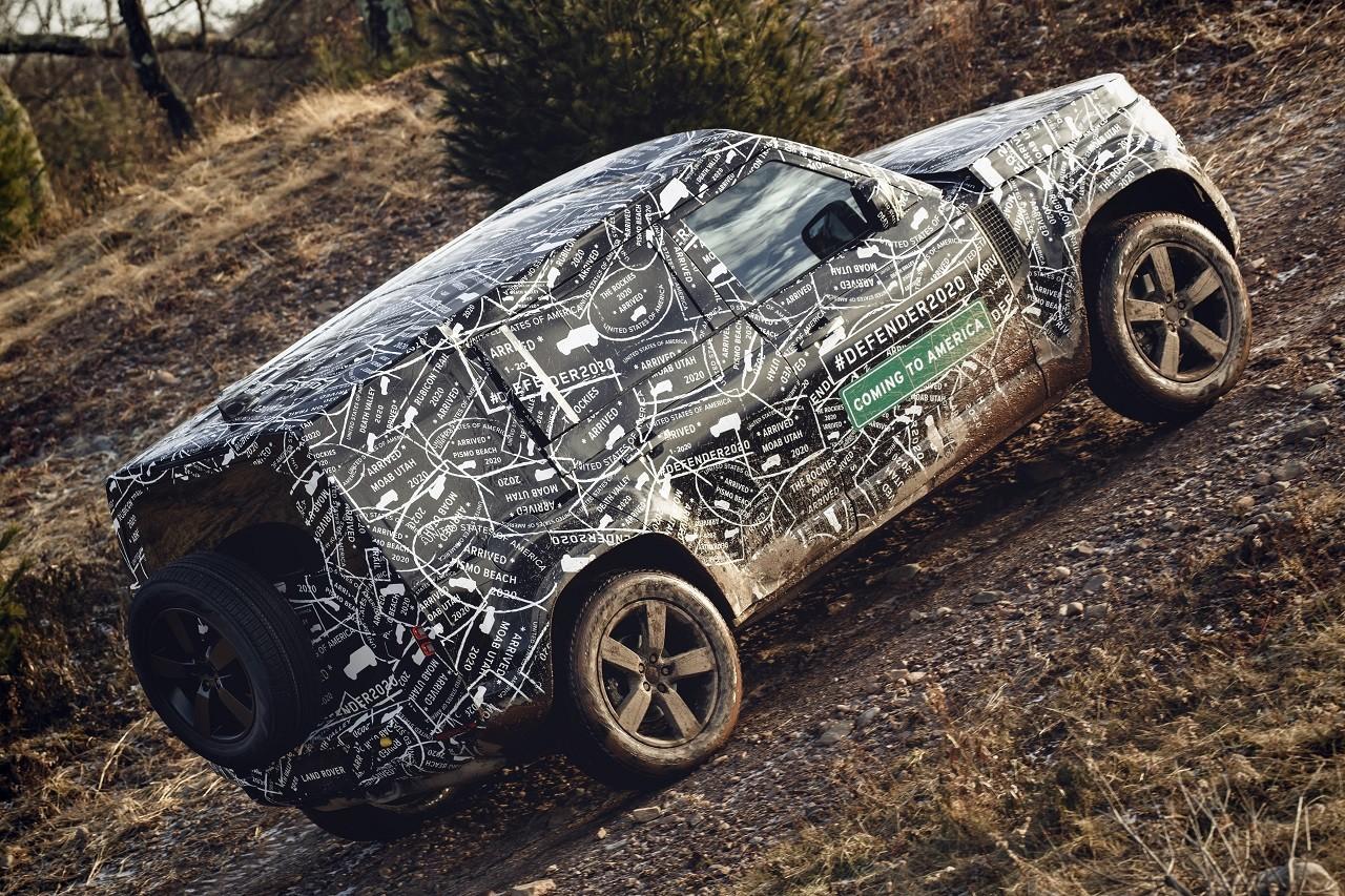 Foto de Land Rover Defender 2020 primeras fotos oficiales (21/24)