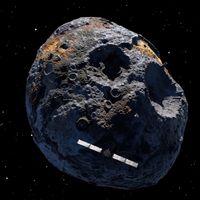 SpaceX y la NASA se alían para estudiar un misterioso asteroide de metal llamado 16 Psyche
