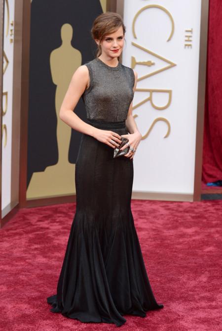 Las peor vestidas de la alfombra roja de los Oscar Emma Watson Vera Wang
