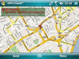 GPS.Friend, localización a través del móvil