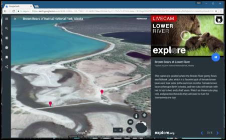 Google Earth Live Cams