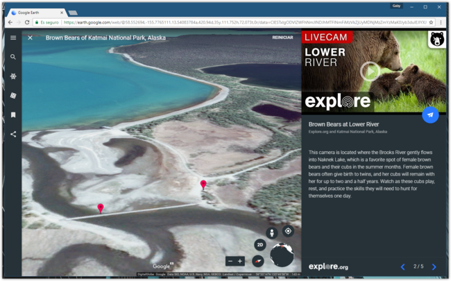 Google Earth Live Cams