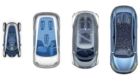 Cuatro prototipos Renault Zero Emission para Fráncfort
