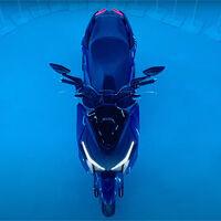El Kymco Xciting 400 S podría tener un hermano pequeño, según el teaser del nuevo Kymco KRV