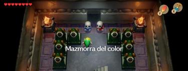 Guía de Zelda: Link's Awakening. La mazmorra del color: dónde está, cómo entrar, y cuáles son sus recompensas