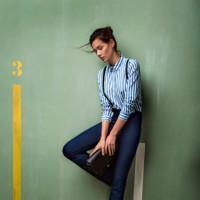 Sheila Márquez repite como imagen de Stradivarius en la campaña Primavera-Verano 2014