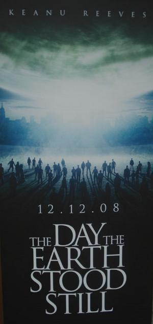 'The Day The Earth Stood Still', primer póster