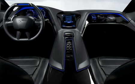 Peugeot RCHYmotion4 Concept
