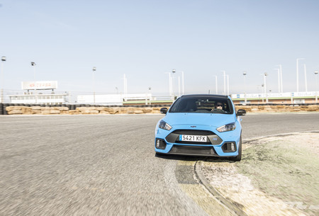 Ford Focus RS Performance en circuito