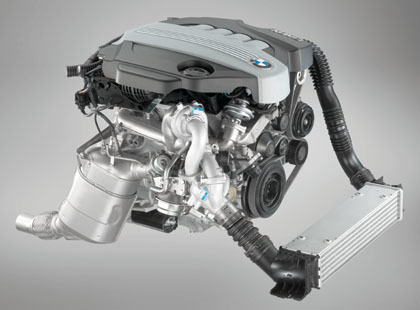 Motor diesel de 204 CV