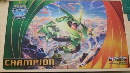 Playmat Champion Rayquaza