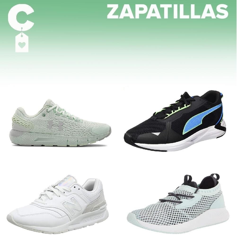 Chollos en tallas sueltas de zapatillas Under Armour, Puma o New Balance en Amazon
