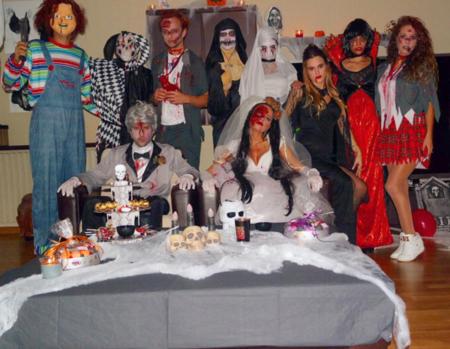 Jordi Alba Halloween