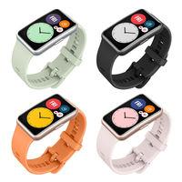 Huawei Watch Fit: filtrados el diseño y características de este curioso smartwatch alargado