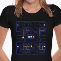 Camsieta Pacman Mujer