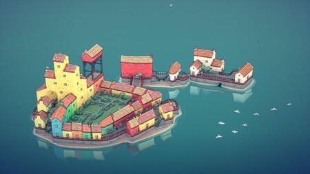 Townscaper, el hipnótico generador instantáneo de pueblos del creador de Bad North, coloreará este verano con su versión final