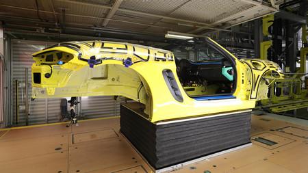 Porsche entre bastidores app fabricación