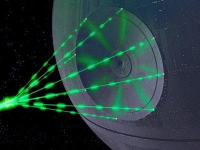 El rayo de la Estrella de la Muerte en 'Star Wars' podría funcionar