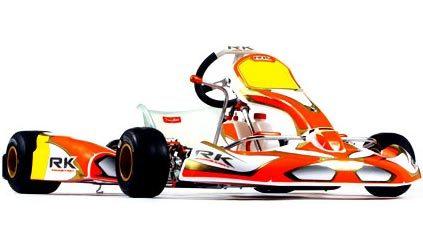 Desvelado el diseño de los karts RK de Robert Kubica