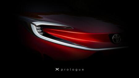 Toyota X Prologue: un nuevo urbano con el costo bajo como objetivo principal nos muestra un pequeño adelanto
