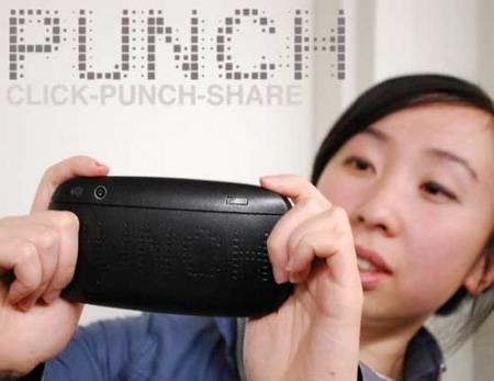 Punch camera, imprimiendo tus fotos a golpes