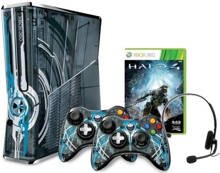 La Xbox 360 Edición Limitada 'Halo 4' es una realidad. Y los pads de 'Halo 4' también