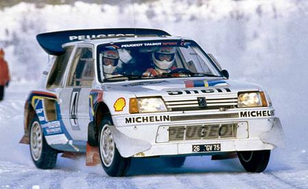Peugeot 205 T16 Suecia