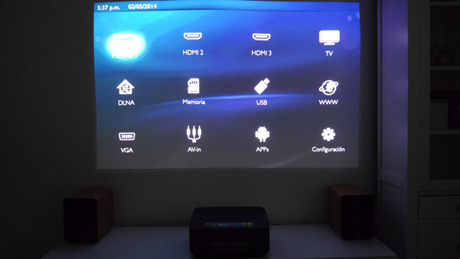 Foto de Philips Screeneo HDP1590TV (1/13)