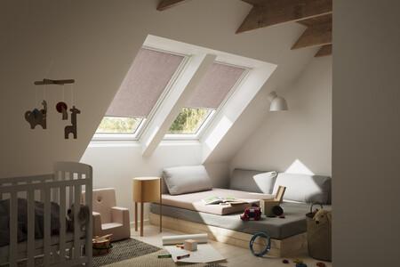 La nueva colección de cortinas VELUX, inspirada en la decoración escandinava, incluye 70 colores de tendencia