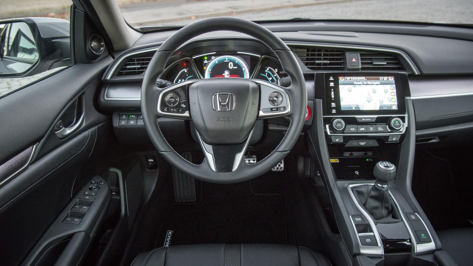Foto de Honda Civic 5 puertas (17/18)