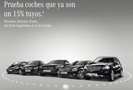 Mercedes Selection Weeks con un 15% de descuento