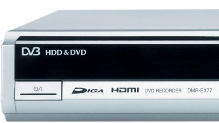 Grabador de DVD con disco duro Panasonic EX77, análisis