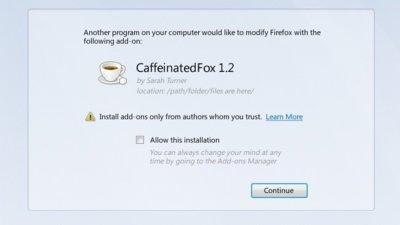Firefox 8 avisará cuando una extensión intente instalarse sin nuestro permiso
