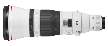 Ef 600 Mm F4l Is Iii Usm Side With Cap Rti 820